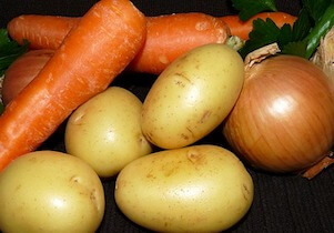 Madcap Commodities Carrots Potatoes Onions