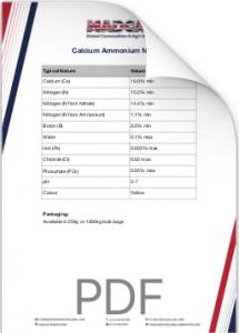 Calcium Ammonium Nitrate Analysis