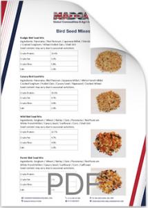 Bird Seed Analysis