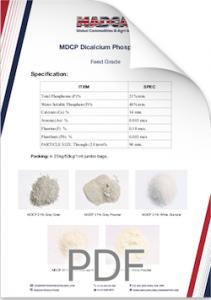 MDCP Dicalcium Phosphate